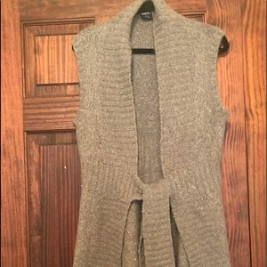 Cute gray sweater vest